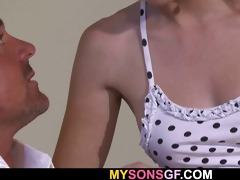 he is finds daddy fucking his gf