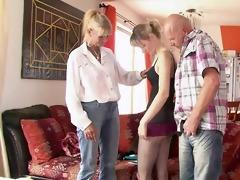 vicious parents seduces their sons gal