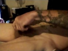 hottest dirty talkin daddy shoots his load twice!