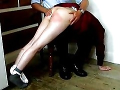 a spanking from dad